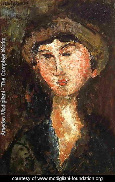 Amedeo Modigliani - Beatrice Hastings