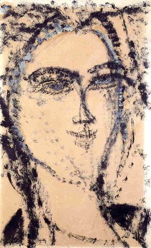 Amedeo Modigliani - Head I