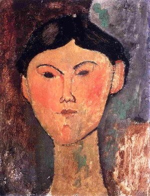 Amedeo Modigliani - Beatrice Hastings I