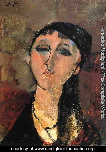 Amedeo Modigliani - Portrait of a Young Girl I