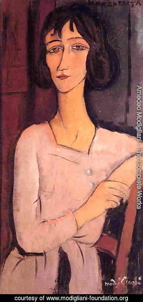 Amedeo Modigliani - Marguerite Seated