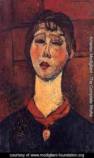 Amedeo Modigliani - Madame Dorival