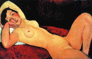 Amedeo Modigliani - Reclining Nude I