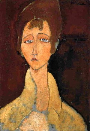 Amedeo Modigliani - Woman in White Coat