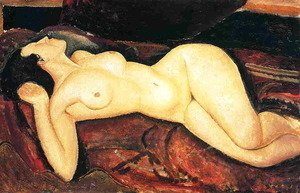 Amedeo Modigliani - Recumbent Nude