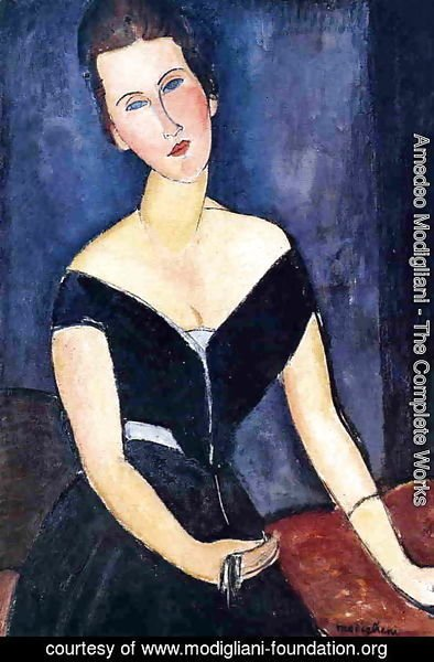 Amedeo Modigliani - Madame Georges van Muyden
