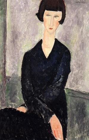Amedeo Modigliani - The Black Dress