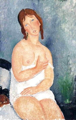 Amedeo Modigliani - The Dairymaid