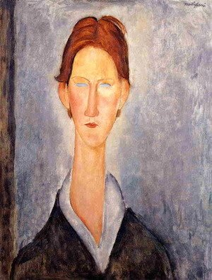 Amedeo Modigliani - Young Man