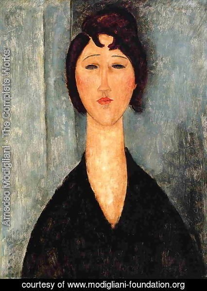 Amedeo Modigliani - Portrait of a Young Woman I