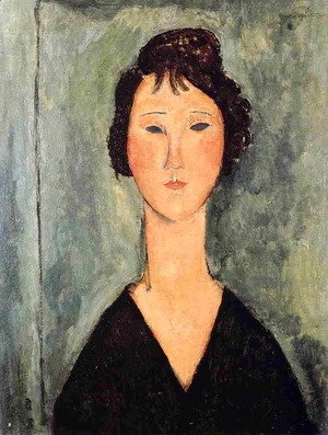 Amedeo Modigliani - Portrait of a Woman IV