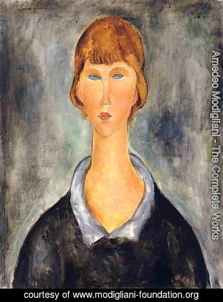 Amedeo Modigliani - Portrait of a Young Woman II