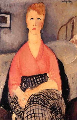 Amedeo Modigliani - Pink Blouse