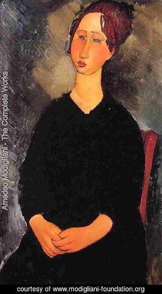 Amedeo Modigliani - Little Serving Woman