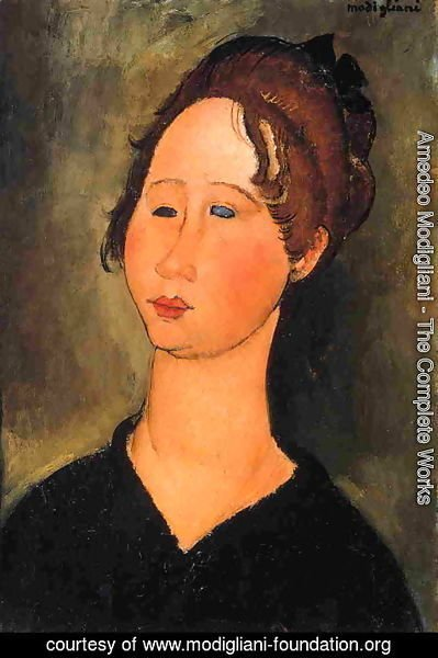 Amedeo Modigliani - Burgundian Woman