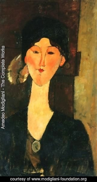 Amedeo Modigliani - Beatrice Hastings Standing by a Door