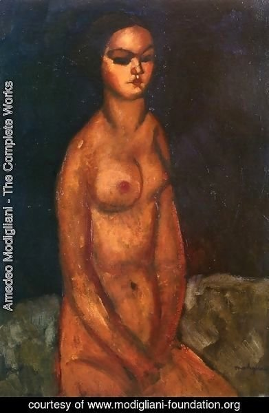 Amedeo Modigliani - Seated Nude III