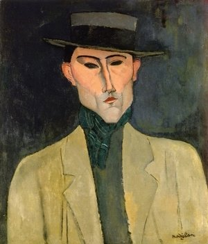 Amedeo Modigliani - Man witih Hat
