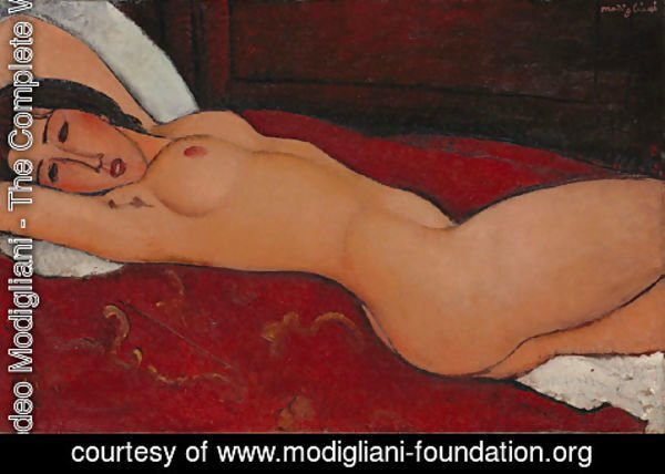 Amedeo Modigliani - Reclining Nude 2