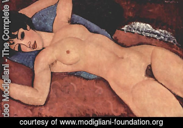 Amedeo Modigliani - Reclining Nude 3
