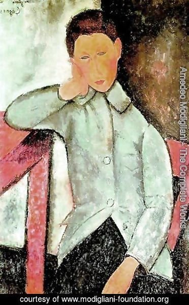 Amedeo Modigliani - boy