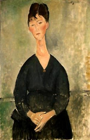 Amedeo Modigliani - cafe singer 1920