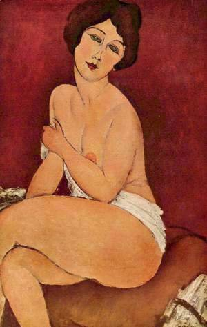 Amedeo Modigliani - Female act