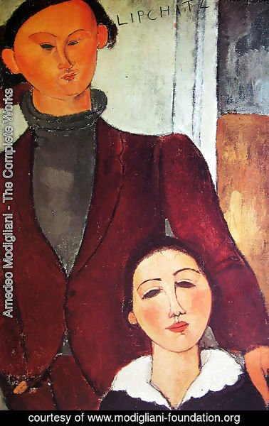 Amedeo Modigliani - Jacques and Berthe Lipchitz