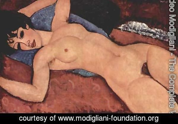 Amedeo Modigliani - Lying act