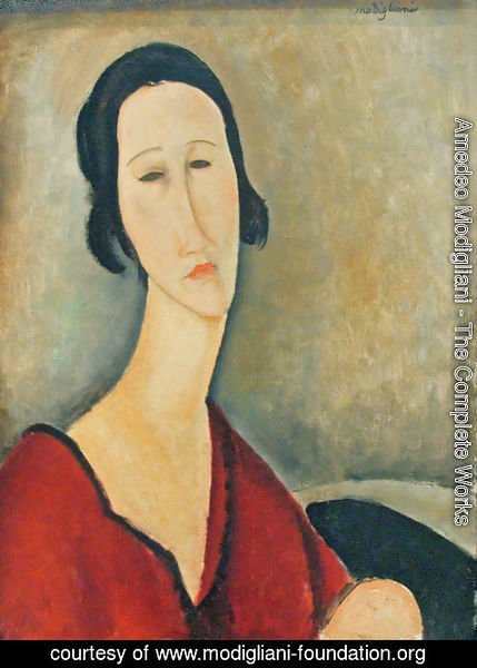 Amedeo Modigliani - Madame Z