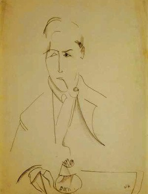 Modigliani with the pipe