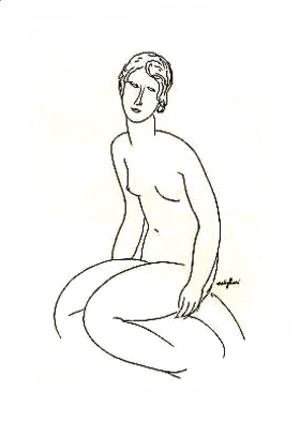 Amedeo Modigliani - Nude Woman