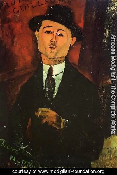 Amedeo Modigliani - Paul Guillaume, Novo Pilota