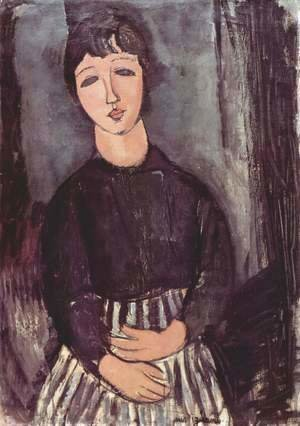 Amedeo Modigliani - Portrait of a maid