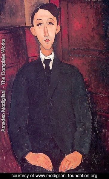 Amedeo Modigliani - Portrait of a man