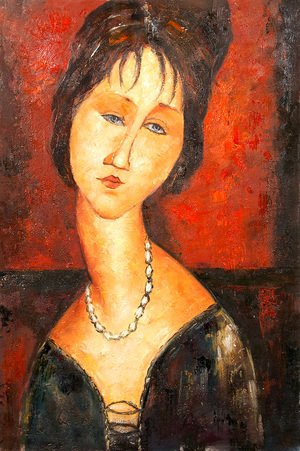 Amedeo Modigliani - Portrait of a woman 3