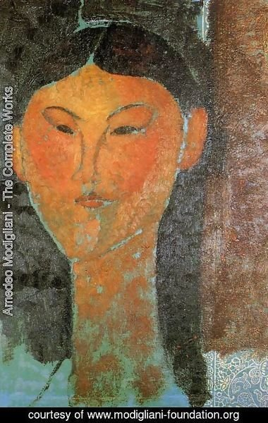 Amedeo Modigliani - Portrait of Beatrice Hastings 3