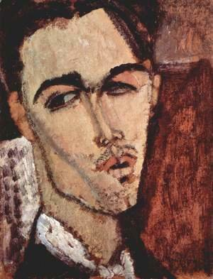 Amedeo Modigliani - Portrait of Celso Lagar