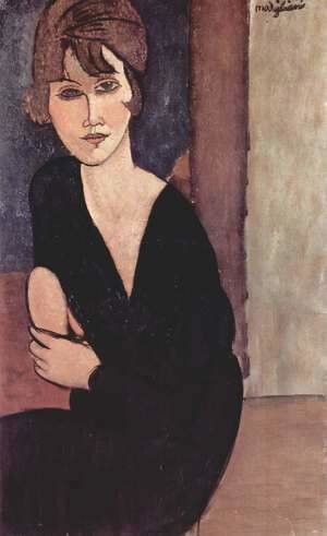 Amedeo Modigliani - Portrait of Madame Reynouard