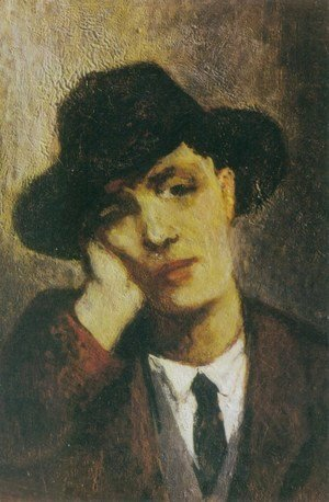 Amedeo Modigliani - Portrait of Modigliani