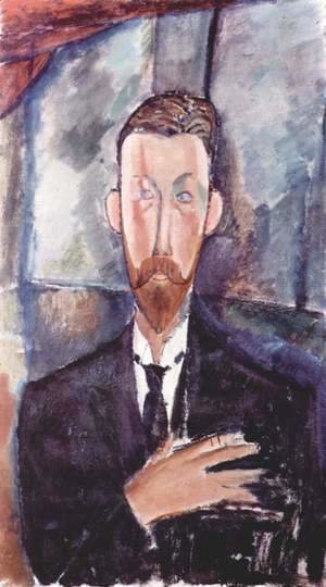 Amedeo Modigliani - Portrait of Paul Alexanders