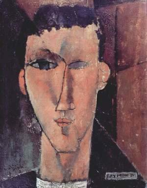 Amedeo Modigliani - Portrait of Raymond Radiguet