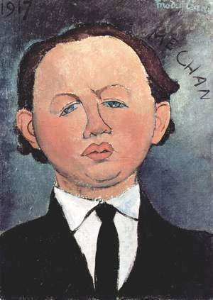 Amedeo Modigliani - Portrait of the Mechanical