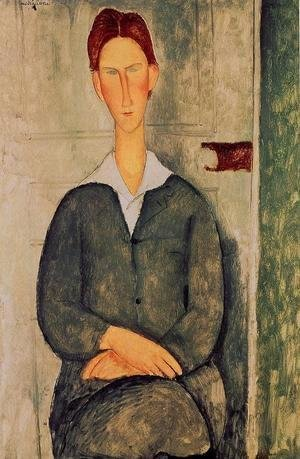 Amedeo Modigliani - Readhead Young Man