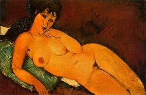 reclining nude 1917