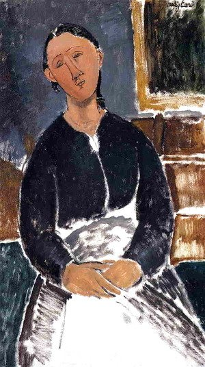 Amedeo Modigliani - Serving Woman (aka La Fantesca)