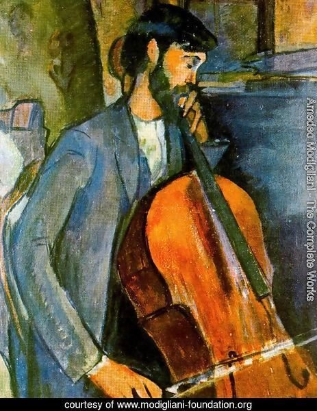The Cellist 1