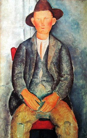 Amedeo Modigliani - Young Farmer