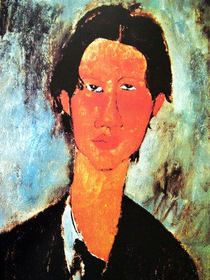 Portrait of Chaim Soutine (detail)
