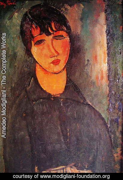 Amedeo Modigliani - The Maid